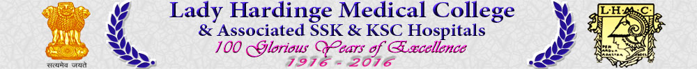 Lady Hardinge Medical College & associated SSK & KSC Hospitals - Government of India
